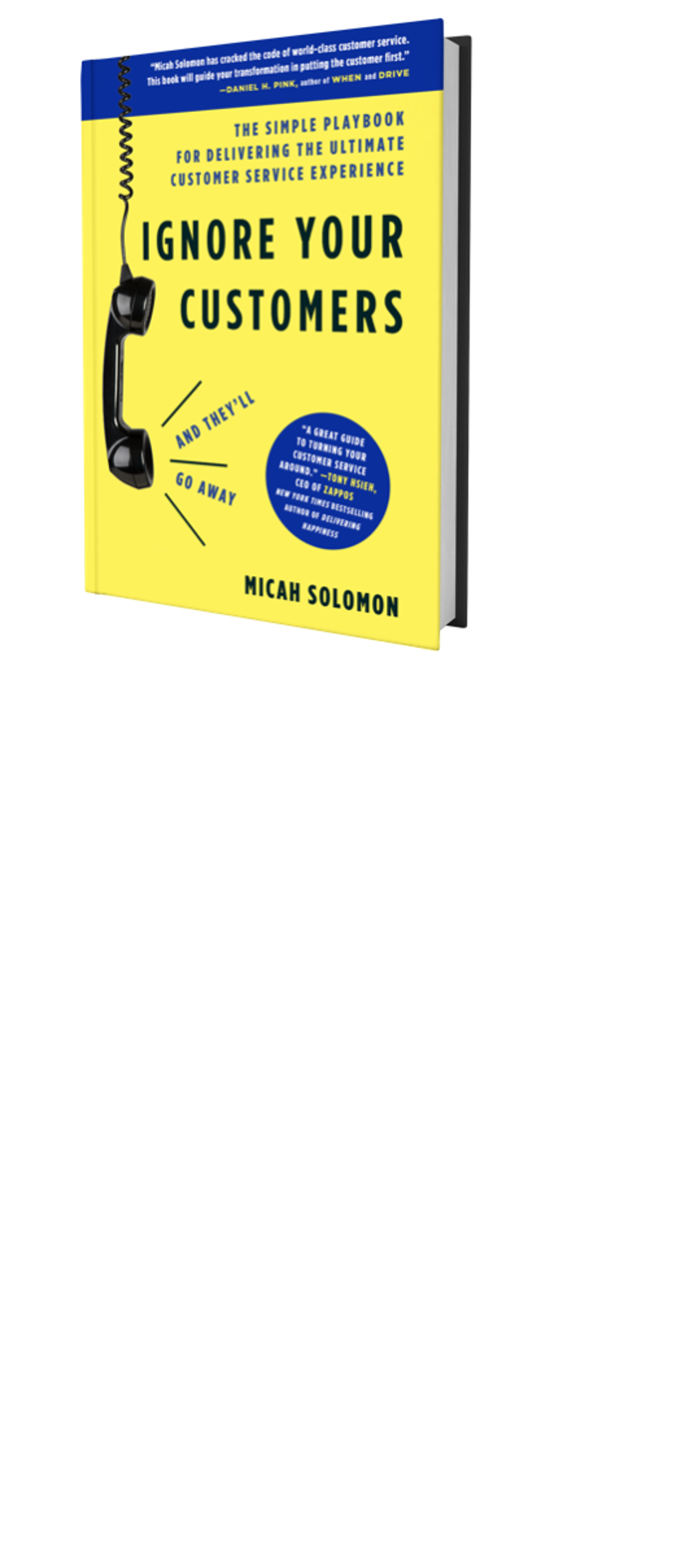 Book cover: Ignore Your Customers (and They'll Go Away)