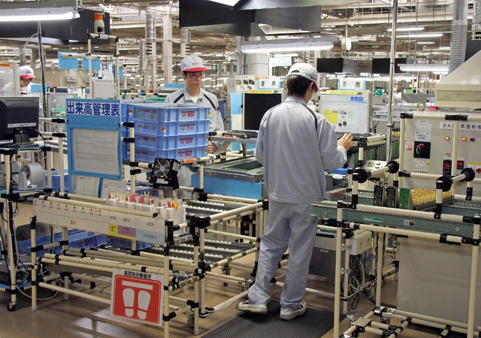 Manufacturing At Denso Corp.'s Daian Plant