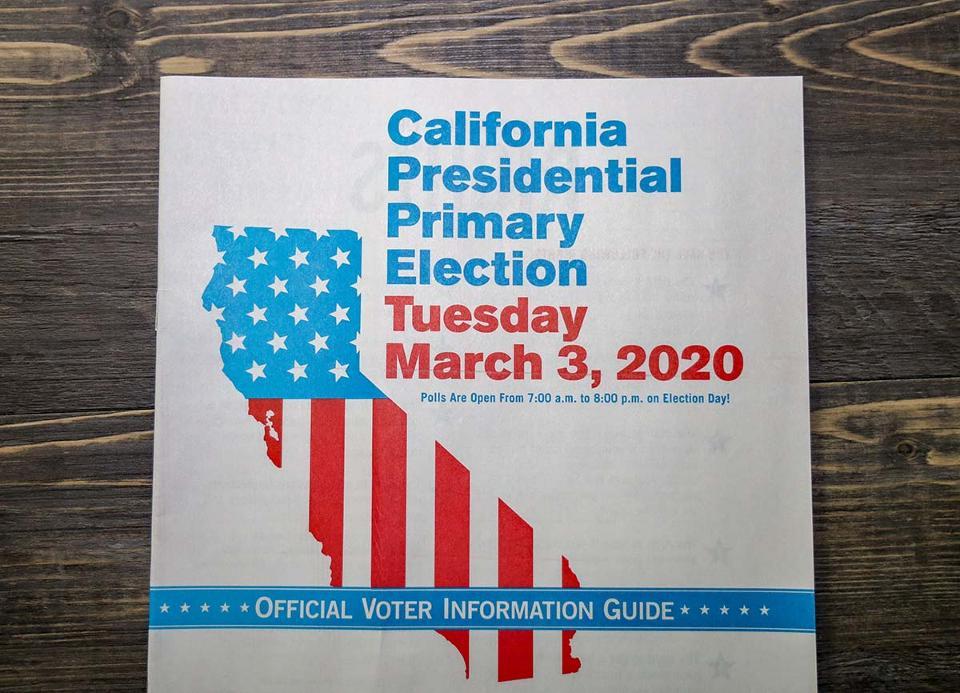 California Primary Voting